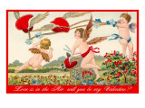 Love is in the Air, Cupids Print