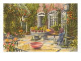 Pirate House Garden, Charleston, South Carolina Posters
