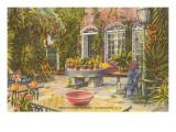 Pirate House Garden, Charleston, South Carolina Posters