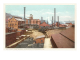 Steel Works, Pittsburgh, Pennsylvania Prints