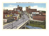 Main Street, Greenville, South Carolina Poster
