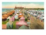 Coronado Tent City, San Diego, California Poster