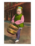 Child in Chinatown, San Francisco, California Posters