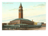 Union Depot, Seattle, Washington Print