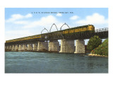 Railroad Bridge, Green Bay, Wisconsin Posters