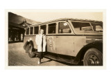 Photo of Tour Bus, Yellowstone National Park Prints