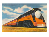 Southern Pacific Streamlined Train, Sunbeam Posters