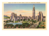 World's Fair Buildings, San Francisco, California Photo