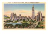 World's Fair Buildings, San Francisco, California Art