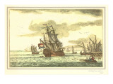 Dutch Man-of-War, Galleon Prints