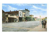 Front Street, Port Angeles, Washington Prints