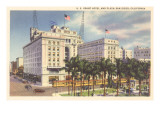US Grant Hotel, San Diego, California Prints
