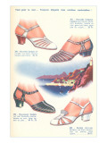 Catalog for French Shoes Posters