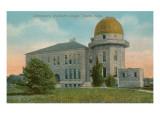 Washburn College Observatory, Topeka, Kansas Prints