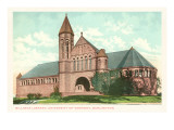 Billings Library, University of Vermont, Burlington, Vermont Print