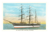 Star of India, Tall Ship, Maritime Museum, San Diego, California Prints