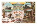 Scenes of 1909 Exposition, Seattle, Washington Prints