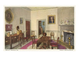 Family Dining Room, Mt. Vernon, Virginia Poster