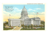 State Capitol, Madison, Wisconsin Print