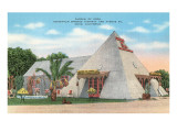 Garden of Eden Pyramid, Indio, California Posters