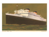 Cunard White Star Prints