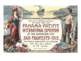 Promotion for Panama-Pacific Exposition, San Francisco, California Posters
