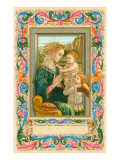 Madonna Adoring the Child, Filippino Lippi Art