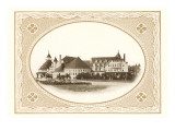 Hotel del Coronado in Framed Oval, San Diego, California Prints
