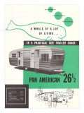 Travel Trailer Advertisement Posters