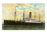 Cunard Ivernia, Ocean Liner Prints