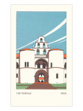 The Portals, SDSU, San Diego, California Posters