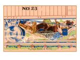 Lower Berth, Hobos under Train Prints