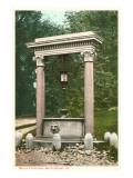 Wells Fountain, Brattleboro, Vermont Posters