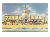Ocean Forest-Hotel, Myrtle Beach, South Carolina Poster