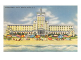 Ocean Forest Hotel, Myrtle Beach, South Carolina Print