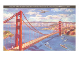 Golden Gate Bridge, San Francisco, California Art