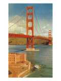 Golden Gate Bridge, San Francisco, California Posters