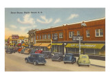 Street Scene, Myrtle Beach, South Carolina Prints