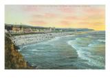Ocean Beach, Pavilion, San Francisco, California Kunstdrucke
