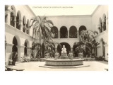 Photo of Courtyard in Balboa Park, San Diego, California Posters