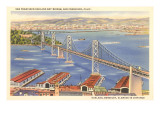 San Francisco – Oakland Bay-Brücke, San Francisco, Kalifornien Poster