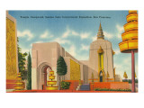 San Francisco World's Fair, Temple Compound Posters