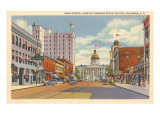 Main Street, Columbia, South Carolina Poster