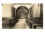 Interior, Mission Dolores, San Francisco, California Prints