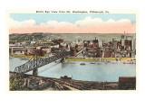 Blick über Pittsburgh, Pennsylvania Kunstdrucke
