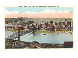 View over Pittsburgh, Pennsylvania Art