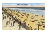 Mission Beach, San Diego, Kalifornien Kunst
