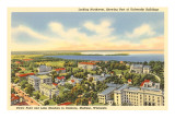 University, Views of Madison, Wisconsin Posters