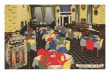 Mexican Inn Cafe, Retro Print