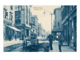 Thames Street, Newport, Rhode Island Print